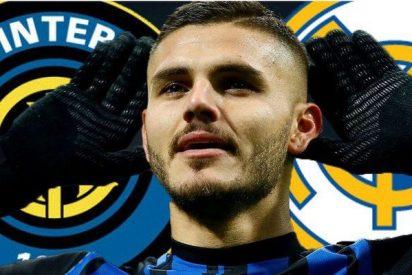El Inter de Milan informa al Real Madrid del pastón que quiere por Icardi