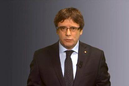 """Puigdemont asoma su mala cabeza tras el estacazo: """"No hay otro candidato posible"""""""