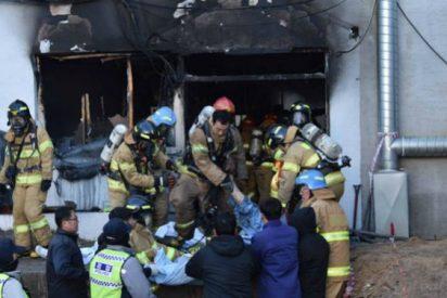 """""""Sincera solidaridad"""" del Papa con las víctimas de un incendio en Corea"""