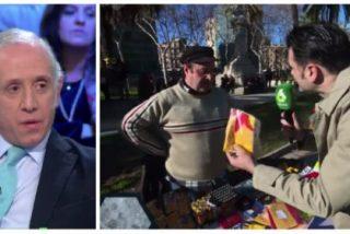 Eduardo Inda le mete un zasca épico a Iñaki López por intentar meterle por los morros una estelada