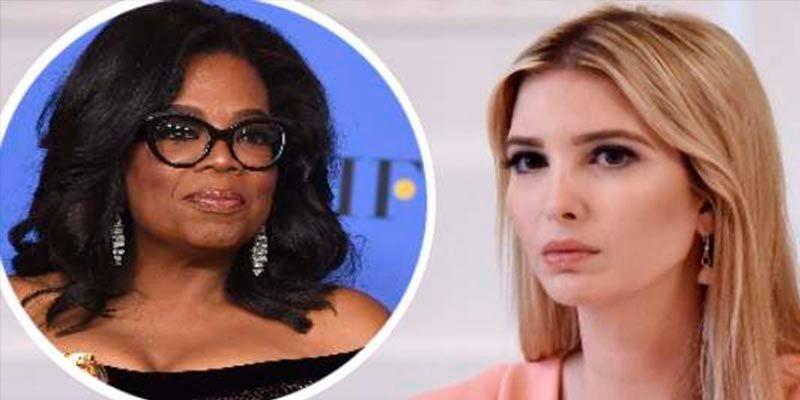 Cachondeo en Twitter por el apoyo de Ivanka Trump al discurso de Oprah Winfrey