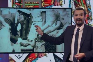 TV3 obedece a Puigdemont e intenta vincular al Rey Felipe con Franco con una foto de este... ¡con 3 años!
