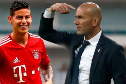 Las reveladoras confesiones de James sobre Zidane