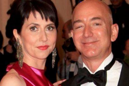 La curiosa historia de amor de los dueños de Amazon