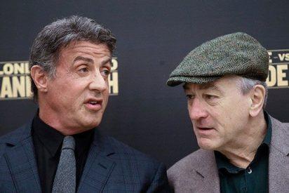 La mujer que acusa a Sylvester Stallone de violación planea denunciar también a Robert De Niro