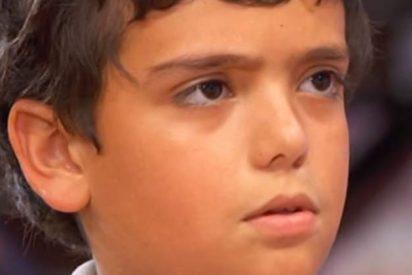"""La última perla de Juan Antonio en 'MasterChef Junior': """"He hecho una 'maus"""""""