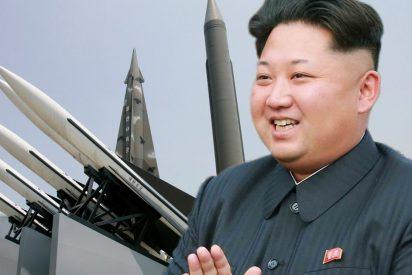 Un misil balístico lanzado por el gordito Kim Jong-un cayó sobre una ciudad norcoreana