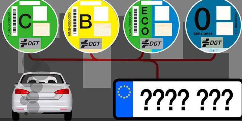 ¿Sabes cómo conseguir la pegatina de la DGT que te permitirá circular por el centro de las ciudades?
