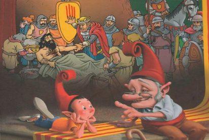 Las 10 grandes mentiras con las que se adoctrina a los niños catalanes