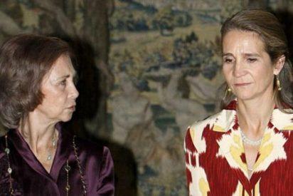 La terrible desgracia que une sin remedio a Doña Sofía y la infanta Elena