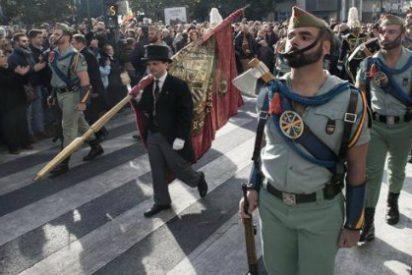 """Así intentan los podemitas cortar el paso a la Legión por el """"genocidio' de la Toma de Granada"""