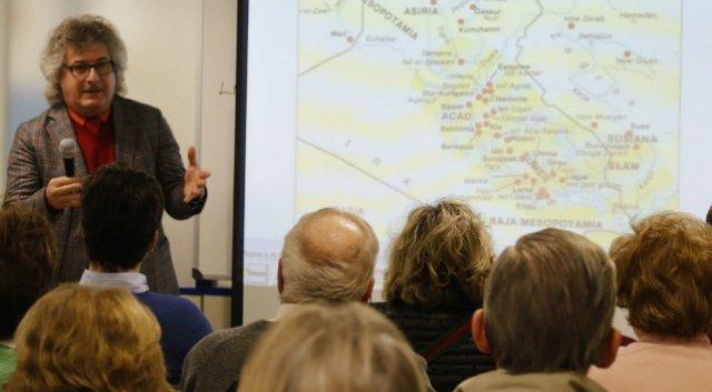 Raad Salam descubre las claves de un judaísmo pacifista y dialogante