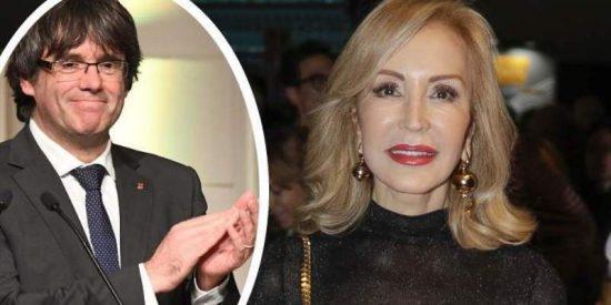 """Carmen Lomana: """"Puigdemont es un fantoche"""""""