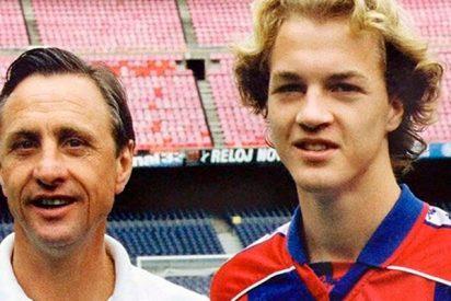 Los Cruyff venden la casa familiar de Barcelona por un pastizal