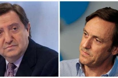 """Losantos apalea a Rafa Hernando por su ataque a Ciudadanos: """"Vives instalado en la idiocia, eres un chulo y un necio"""""""