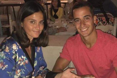 El futbolista Lucas Vázquez y Macarena Rodríguez esperan su primer hijo