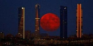 Llega la Superluna azul de sangre con eclipse total