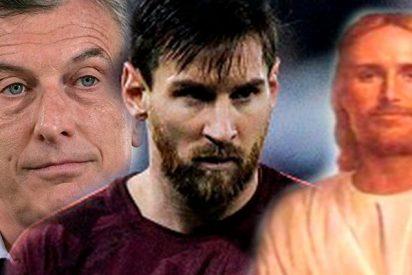 """Macri: """"Dios y Messi dirán si podemos ganar el Mundial"""""""