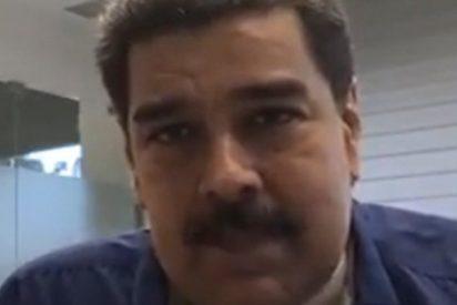 El ridículo del dictador Nicolás Maduro en su primera transmisión en Facebook Live