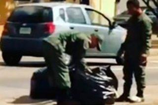 Hasta los militares revuelven la basura por comida en la Venezuela chavista