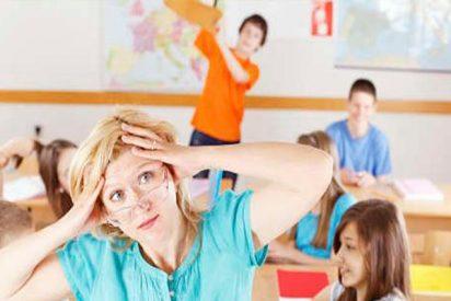 Nueve de cada 10 profesores españoles conviven con situaciones de violencia en clase