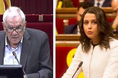 Inés Arrimadas pone de vuelta y media y sin miramientos a Maragall por su discurso lleno de odio y rencor contra España