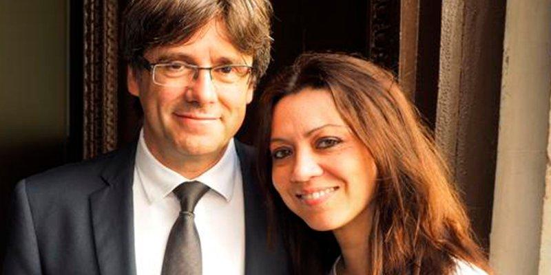 La complicada situación de la esposa de Puigdemont