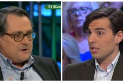 """Marhuenda rompe en dos al bisoño Montesinos por su ataque a Rajoy: """"Tú crees que los españoles son idiotas"""""""