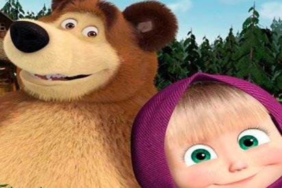 ¿Sabes por qué la animación rusa Masha y el Oso es el dibujo animado más visto en YouTube?