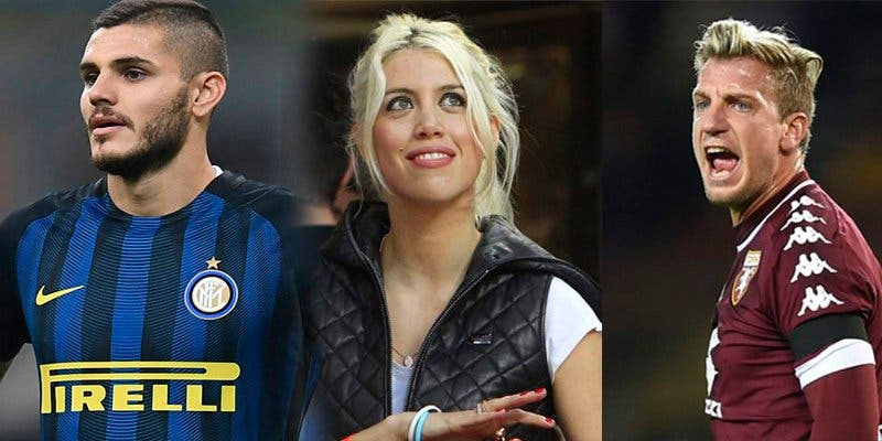 El sexy triángulo amoroso entre Mauro Icardi, Wanda Nara y Maxi López