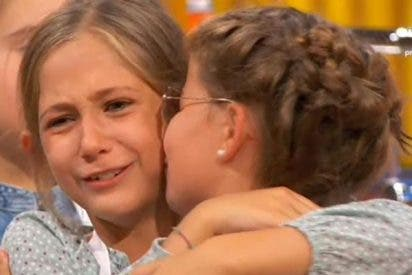 'Masterchef Junior' (TVE) bate récord con 19,7% y aplasta a 'Little Big Show' que hace 8,9% en T5
