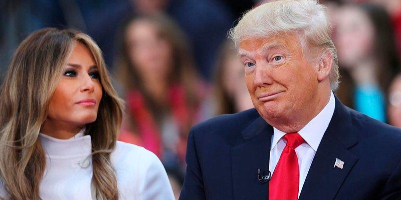 Melania y Trump cumplen 13 años de casados