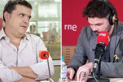 La bochornosa insolencia de Rufián en RNE: así se hace la víctima y falta el respeto a Alfredo Menéndez