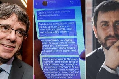 """El prófugo Puigdemont reconoce que los mensajes son suyos: """"Soy humano y a veces también dudo"""""""