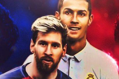 Cristiano Ronaldo dice esto sobre Messi a un grupo de niños en el túnel de vestuarios