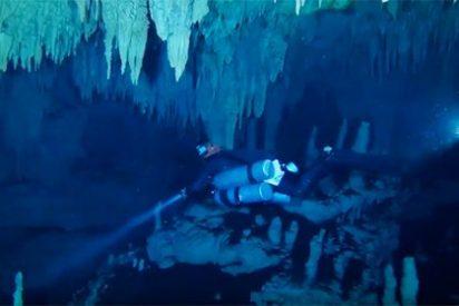 Descubren el sistema de cuevas inundadas más grande del mundo