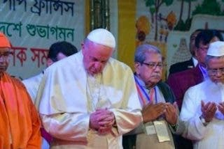 """Francisco: """"Que todas las minorías religiosas puedan vivir su fe con toda libertad"""""""