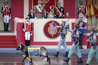 ¿Sabes por qué la Legión Española tiene una cabra como mascota?