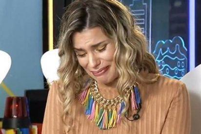 'Sálvame': María Lapiedra se derrumba en directo