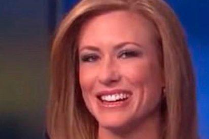 Esta presentadora no logra contener la risa mientras habla sobre…