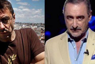 Monedero vuelve a vomitar contra COPE y Carlos Herrera y en Twitter le sacuden la del pulpo