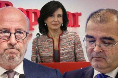 El Santander reclama 25 millones a exdirectivos del Popular que se llevaron 'bonus' y prejubilaciones millonarias