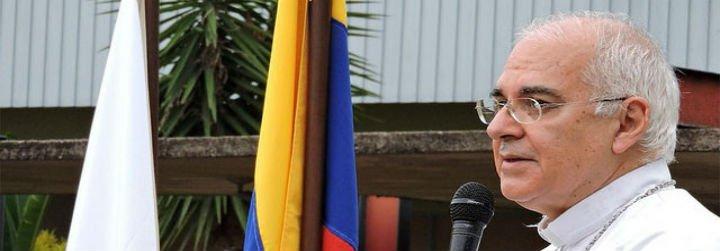 """Monseñor Moronta denuncia que los gobernantes de Venezuela """"sólo buscan sus intereses particulares"""""""