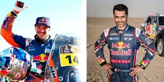 El inicio del Dakar tiene dos nombres propios: Nasser Al-Attiyah y Sam Sunderland