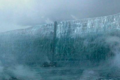 Un muro idéntico al de 'Juego de Tronos' se forma en la frontera entre Rusia y China