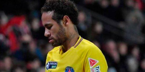 El sucio gesto de Neymar que indigna a los franceses