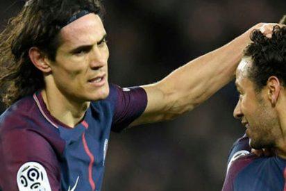 Nueva bronca entre Neymar y Cavani por los penaltis en el Paris Saint Germain