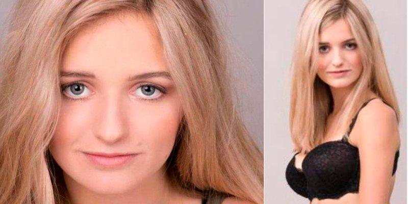 Esta modelo italiana de 18 años subasta su virginidad