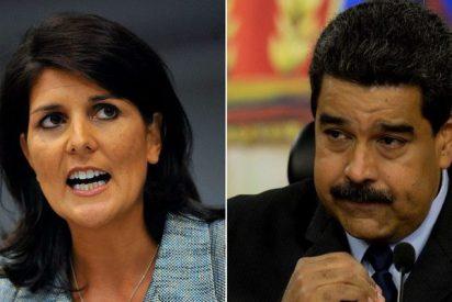 """Nikki Haley: """"Al régimen chavista nada le importan los DDHH y el bienestar de los venezolanos"""""""