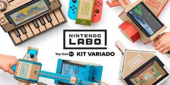 Las redes se parten la caja con Nintendo Labo